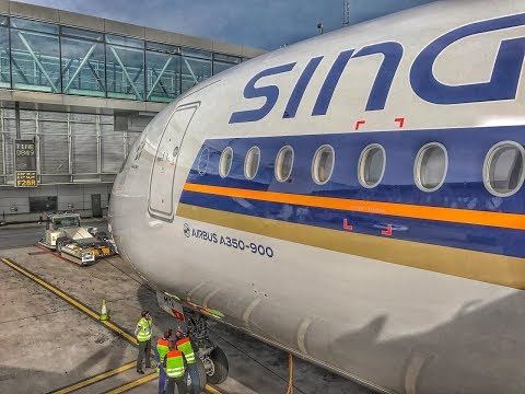 Singapore Airlines Business Class | Airbus A350XWB | SIN-DME-ARN