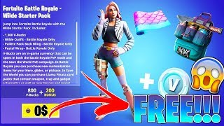 "How To Get ""WILDE"" STARTER PACK for FREE in Fortnite.."
