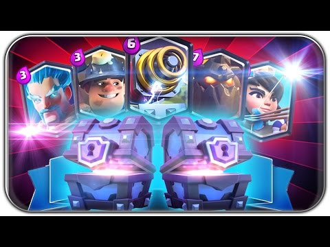 2x SUPER MAGICAL CHEST OPENING | Clash Royale Let's Play   Deutsch German