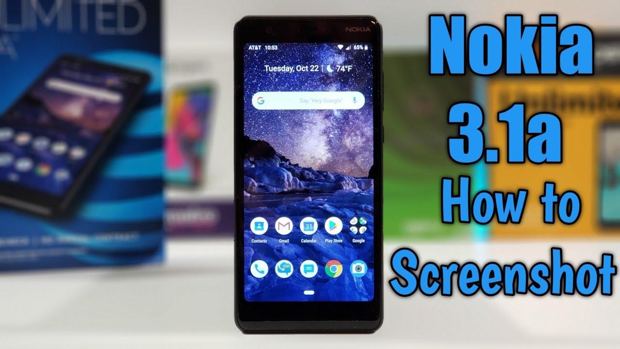 Nokia 3.1a Unboxing, Setup