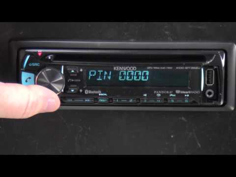 Kenwood KDC-BT362U - Out of The Box