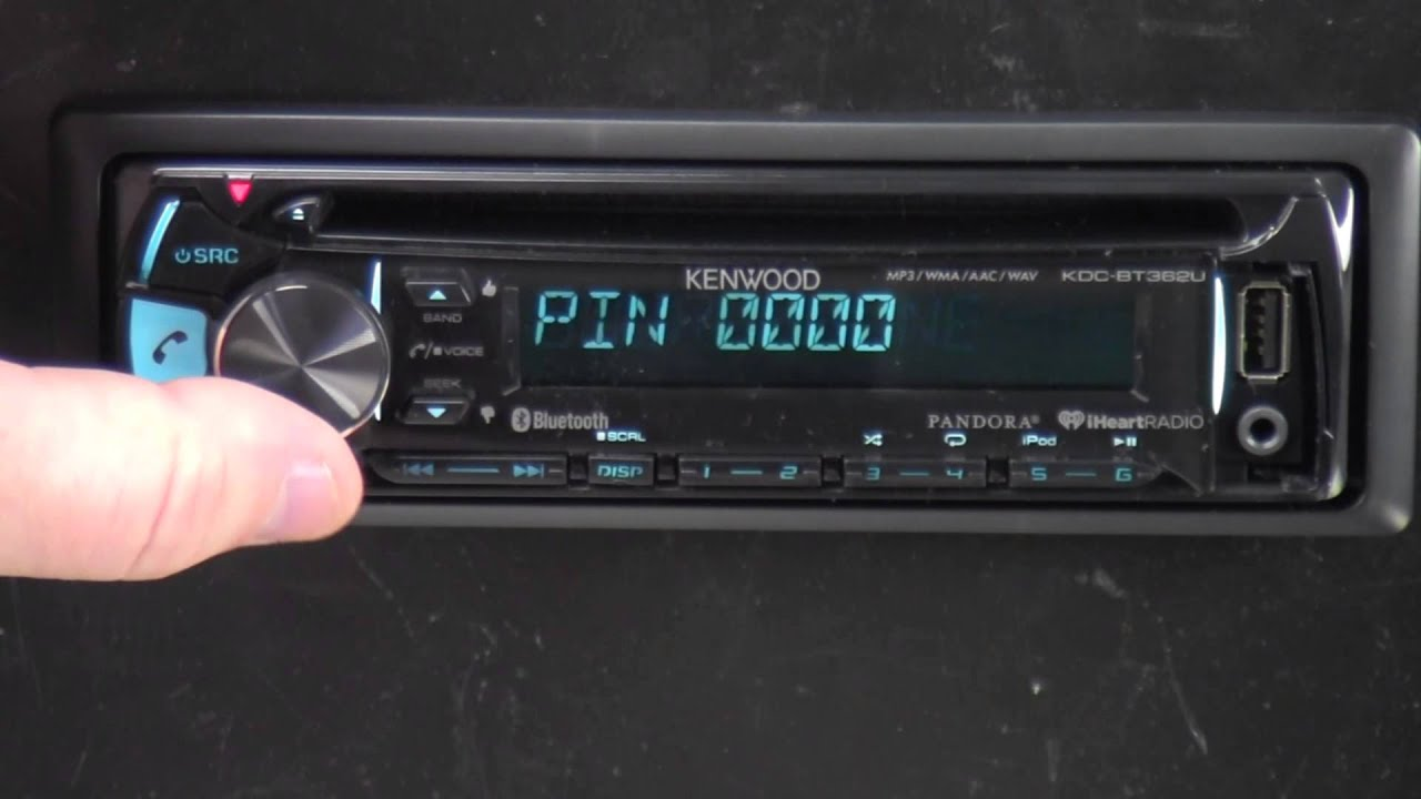 medium resolution of kenwood kdc bt362u out of the box