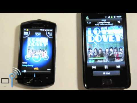 Sony Ericsson Live With Walkman Compare Sound with Samsung Galaxy S2