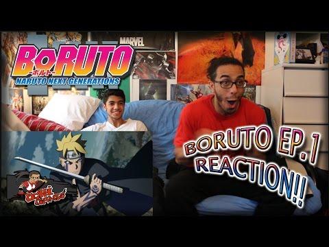 BORUTO EP. 1 REACTION + Predictions!! |