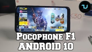 Pocophone F1 Android 10 Gaming test New Update! Snapdragon 845 Flagship