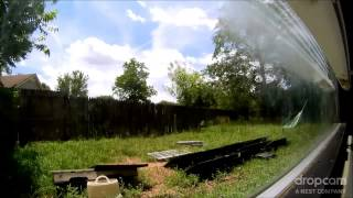500 Watt Backyard Solar Panel Time lapse