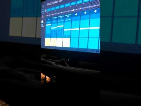 My first song on Magix Music Maker Jam