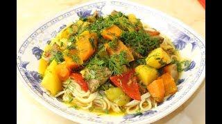 ОБАЛДЕННО Вкусный Обед На Всю СЕМЬЮ. Мясо с овощами.