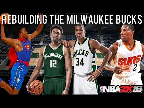 NBA 2K16 MyLEAGUE: Rebuilding the Milwaukee Bucks!