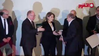 وزير الثقافة يكرم الفنانين في مهرجان جمعية الفيلم (اتفرج)