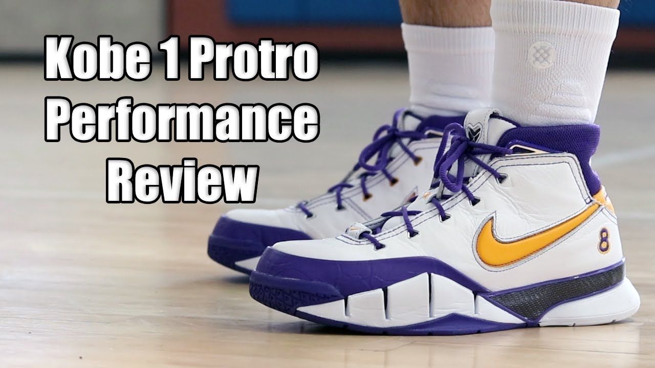 499beaacd15 Nike Kobe 1 Protro Performance Review - YouTube