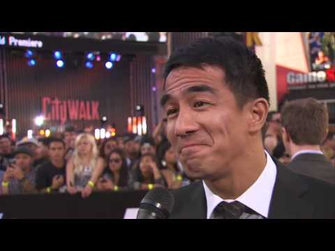 Joe Taslim Interview - Fast and Furious 6 Los Angeles Premiere May 21st 2013