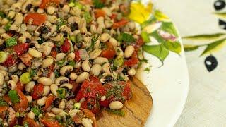 Greek Black Eyed Peas Salad