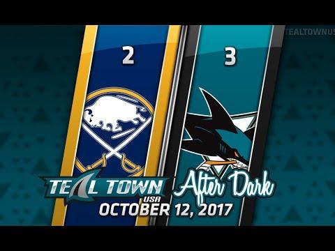 Teal Town After Dark (Postgame) Sharks vs. Sabres - 10/12/2017