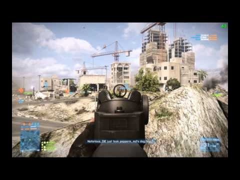 Battlefield 3 Gulf Of Oman Conquest Large 64-Players -Back To Work Part 1