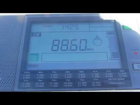 88.6 FM — RADIO ACTIVE [WELLINGTON, 0.5KW]