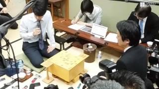 【生きる伝説】藤井聡太四段、公式連勝記録を「26」に更新した瞬間!