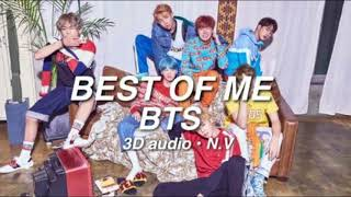 Video [3D AUDIO] BTS - BEST OF ME |  use headphones! download MP3, 3GP, MP4, WEBM, AVI, FLV Juli 2018