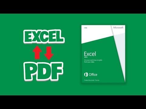 [Thủ thuật] Chuyển file pdf sang excel và excel sang pdf