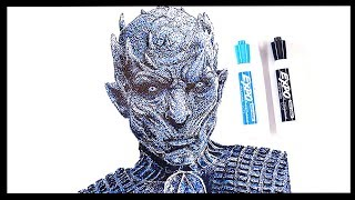NIGHT KING Drawing - GAME OF THRONES - WHITEBOARD Drawing Art