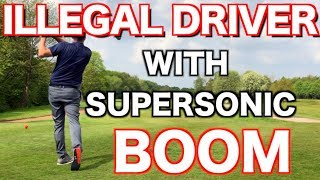 ILLEGAL DRIVER WITH SONIC BOOM HOW FAR DOES IT GO