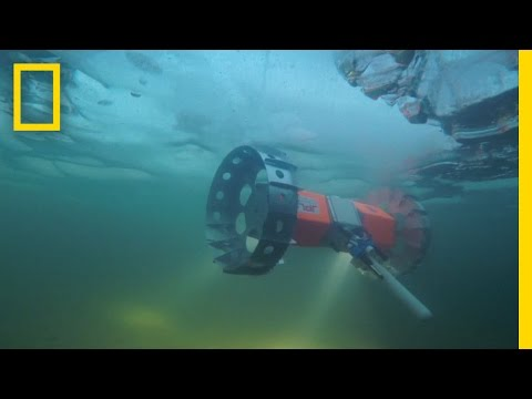 Watch this: prototype NASA robot prowls the underside of frozen lakes, oceans