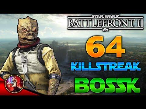 ¡64 BOSSK KILLSTREAK/GAMEPLAY! - Star Wars Battlefront 2 - ByOscar94 thumbnail