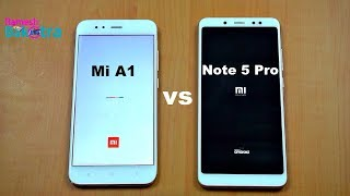 Redmi Note 5 Pro vs Mi A1 Speed Test and Camera Comparison