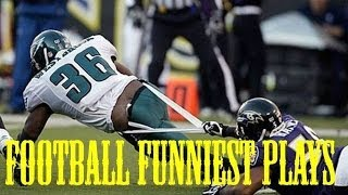 Football Funniest Plays and FAILS- NFL NCAA  - HD
