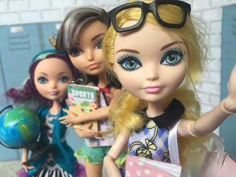 Возвращение в школу кукольный стопмоушен
