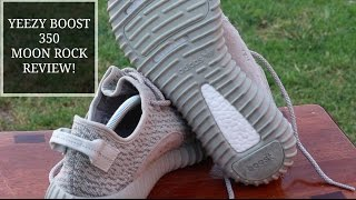 YEEZY BOOST MOONROCK 350 REVIEW/DISCUSSION | THX COPPED