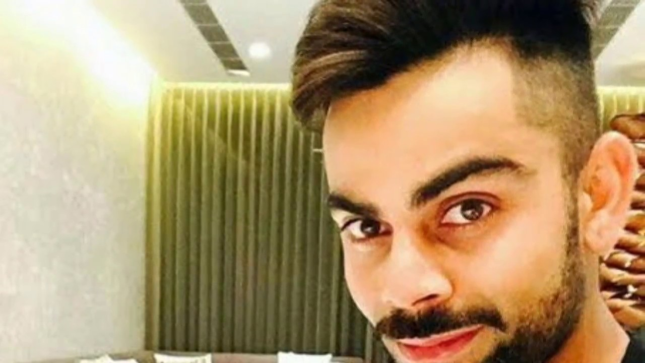 Virat Kohli New Looks New Hair Cuts Virat Kohli 2017 Youtube