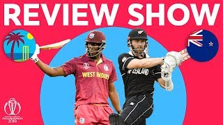 The Review - West Indies V New Zealand  With Brathwaite And Williamson Interview  Icc World Cup