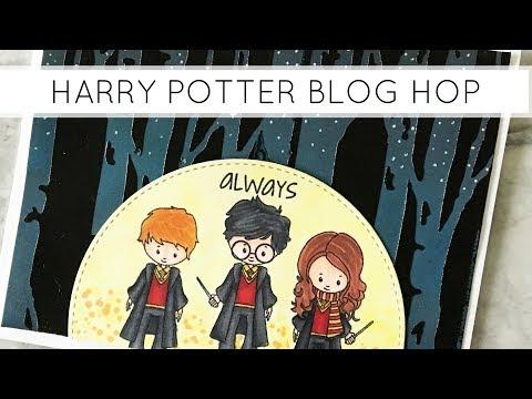 Harry Potter Cardmaking Tutorial Blog Hop (Foiling with Transfer Gel)