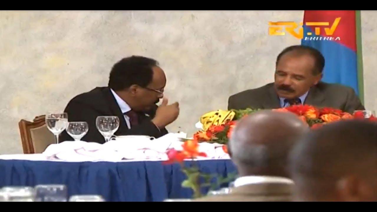 ERi-TV, Eritrea: State Dinner Held For Visiting Somalia President Mohamed  Abdullahi Farmajo