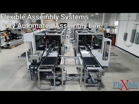 Fully Automated Assembly Line - Flexible Assembly Systems