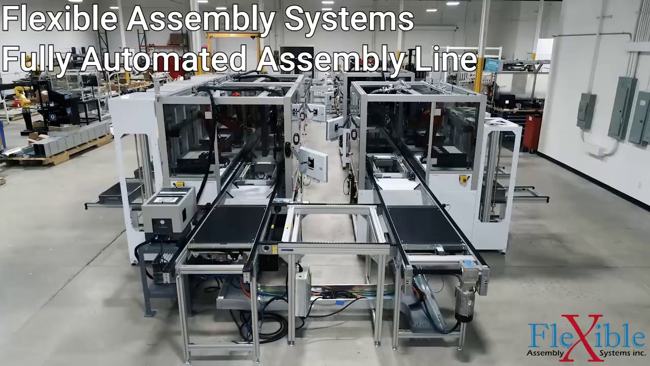 Fully Automated Assembly Line