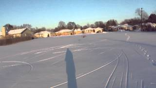 Biplane With Snow Ski's Flight Video. Plans Go To Http://foamconceptjets.yolasite.com