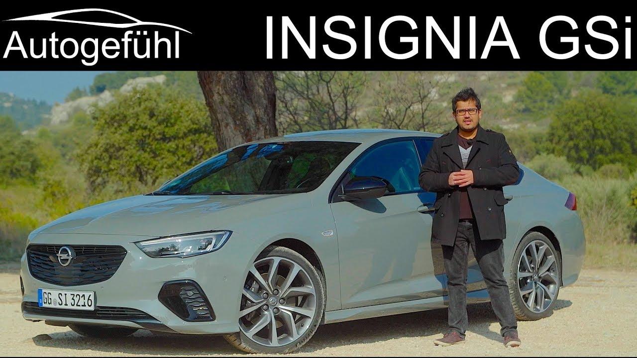 Opel Insignia GSi FULL REVIEW - Vauxhall GSi / Buick Regal GS / Holden Commodore VXR - Autogefühl - Dauer: 59 Minuten