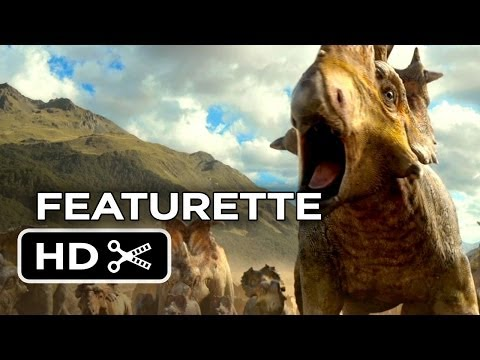 Walking With Dinosaurs 3D Featurette - Drawing Patchi (2013) - CGI Dinosaur Movie HD