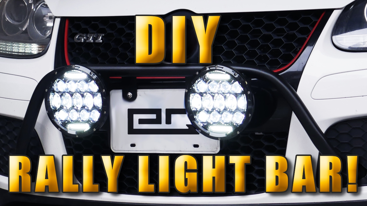How to build and install a rally light bar youtube rally rallycar offroad aloadofball Choice Image