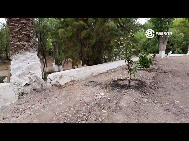 Ayuntamiento de Venado remedia zona de excavaciones en el Ojo de Agua