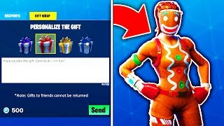 OG SKINS RETURNING with GIFTING SYSTEM! (How to Gift Skins in Fortnite)