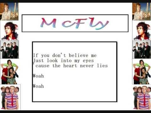 McFly - The Heart Never Lies (LYRICS R BIGGER)