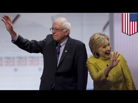 Hillary Clinton defeats Bernie Sanders in South Carolina Democratic primary - TomoNews
