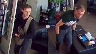 Rotterdam: Brutale inbrekers in Kralingen gefilmd
