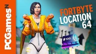 Fortnite Fortbyte guide - Number #64