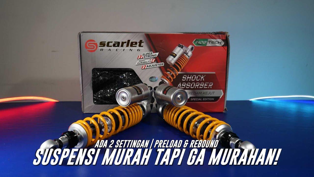 SCARLET RACING NOSTECH! Shock Baru Trail GL | UNBOXING & PEMASANGAN