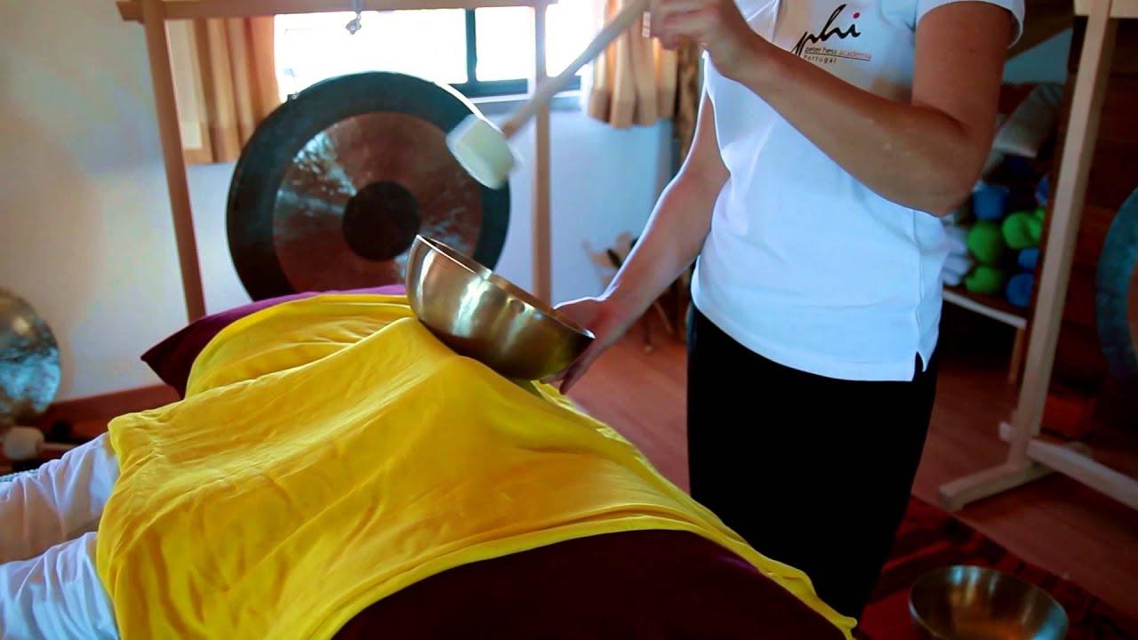 Academia Peter Hess - Demonstração da Massagem de Som