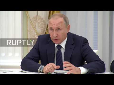 Russia: Putin and Gabriel discuss Russo-German relations at Moscow meeting